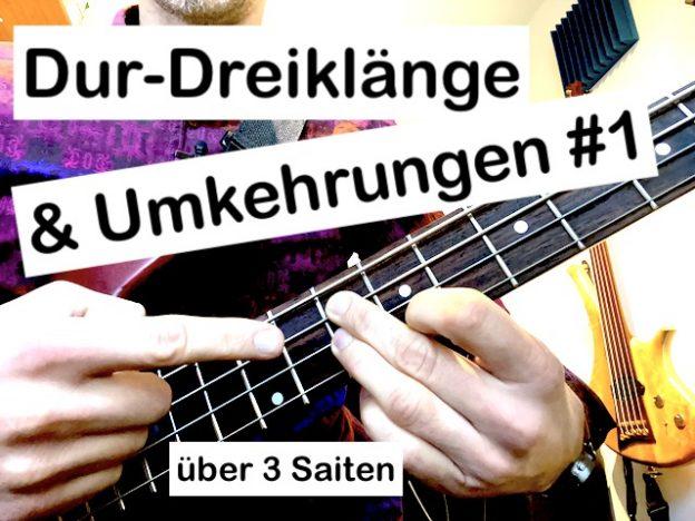 Dur-Dreiklänge & ihre Umkehrungen #1 (über 3 Saiten) course image