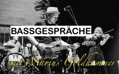 Bassgespräch mit Marius Goldhammer