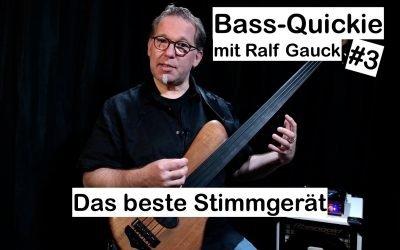 Bass-Quickie #3: Ralf Gauck