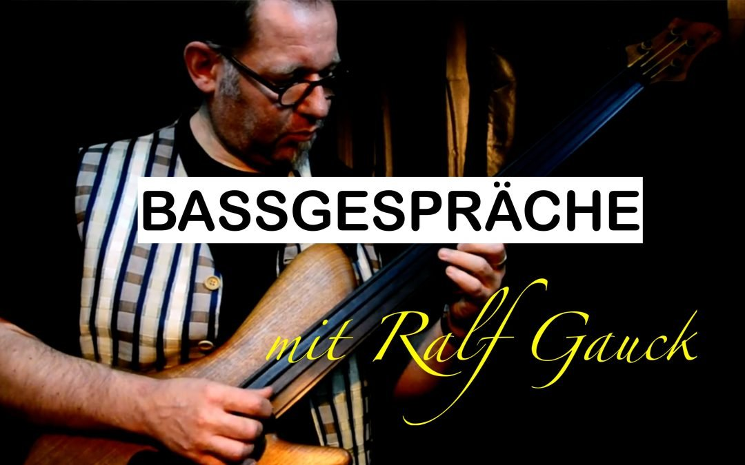 Bassgespräch mit Ralf Gauck