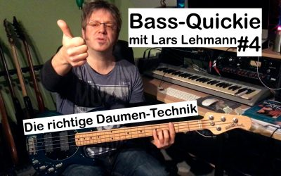 Bass-Quickie #4 – Lars Lehmann