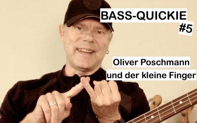 Bass-Quickie #5 – Oliver Poschmann