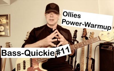 Bass-Quickie #11 – Oliver Poschmann (Power-Warmup)